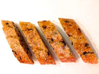 Image of Chocolate Cantucci, the Tuscan Biscotti on Biancolievito