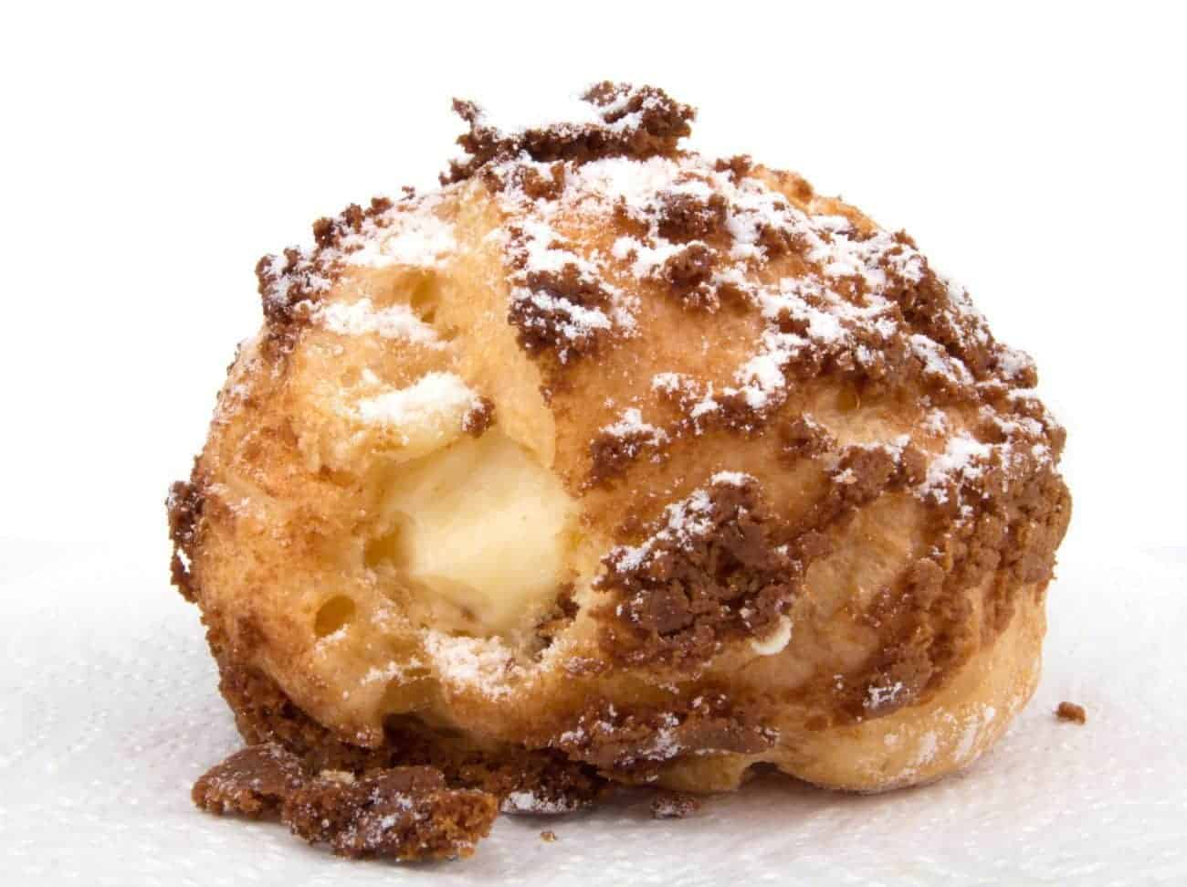 Image of the traditional Choux Pastry Puff on Biancolievito