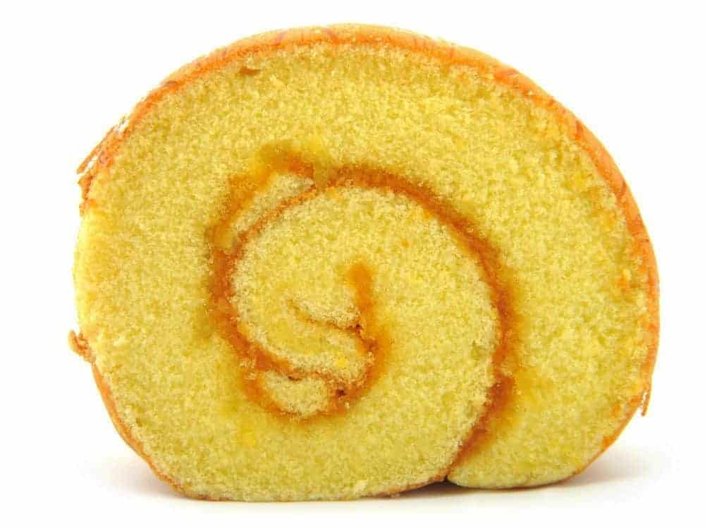 Image of the Sponge Cake Roll on Biancolievito