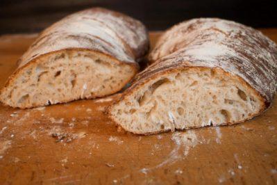 Image of the italian Ciabatta Bread on Biancolievito