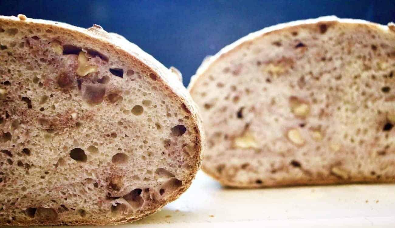 Walnut Bread with Sourdough