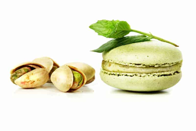 Image of the Macarons Shell on Biancolievito