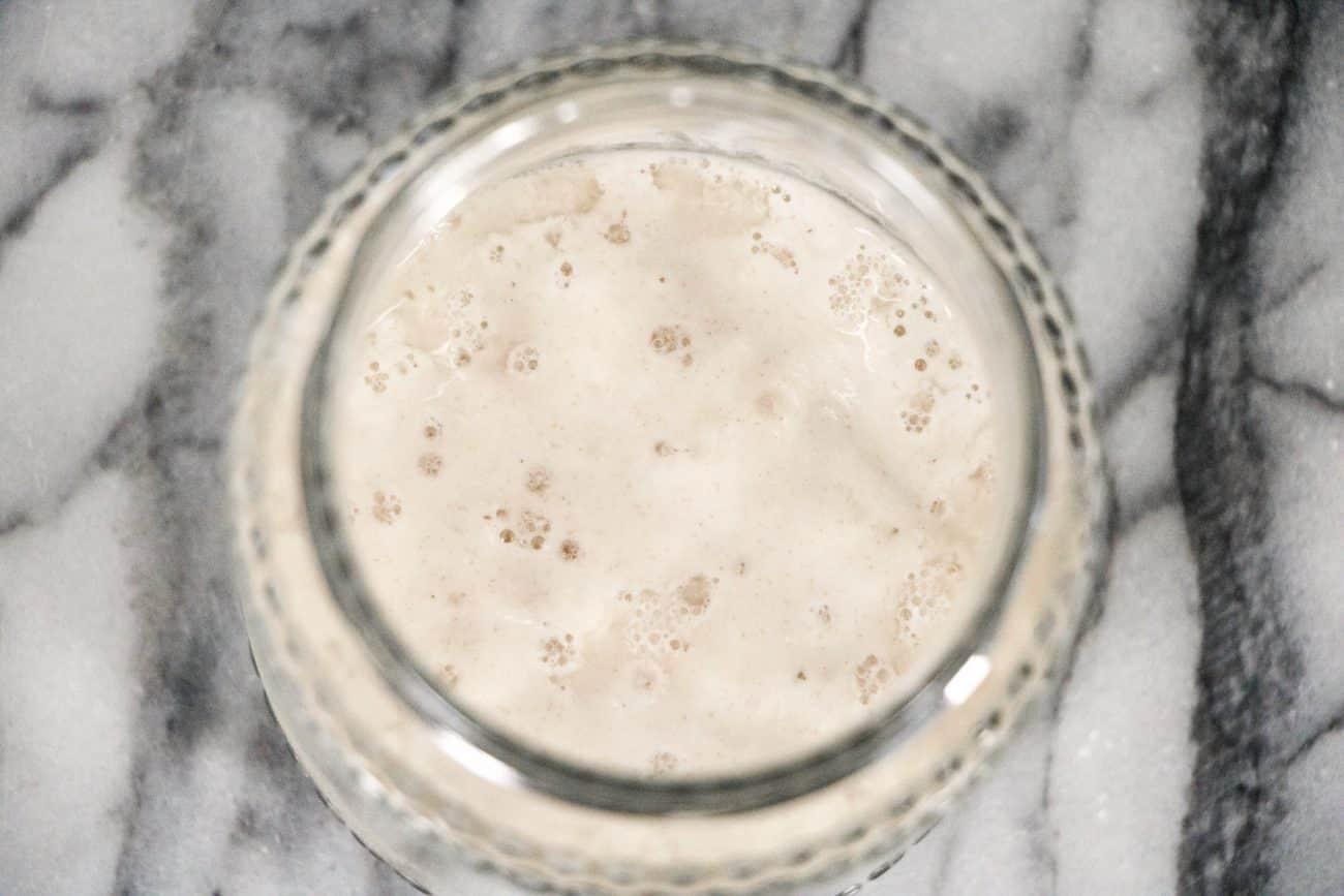 Image of a levain too acidic
