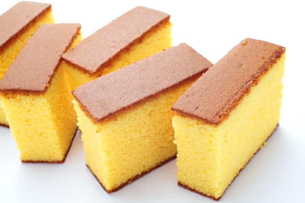 image of the sponge cake on biancolieevito